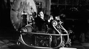 El gran actor Rod Taylor en la mejor versión cinematográfica de La máquina del tiempo